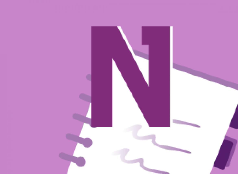 OneNote 2010 Intermediate - Managing OneNote Files