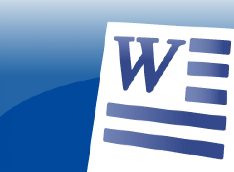 Word 2007 Intermediate - Creating Headers and Footers